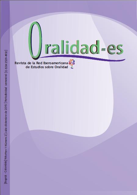 Revista Oralidad-es 1 (2) 2015
