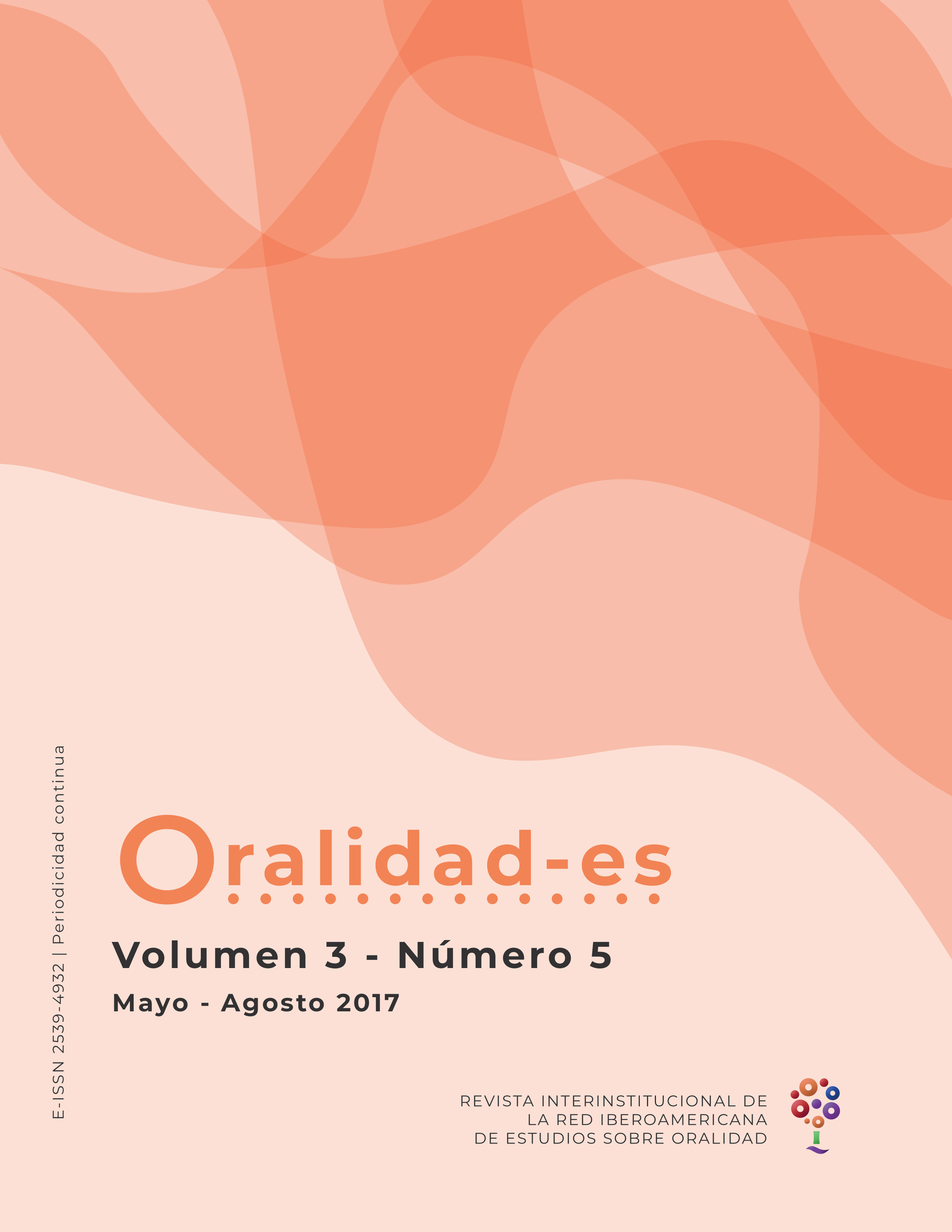 Revista de la Red Iberoamericana de Estudios sobre Oralidad