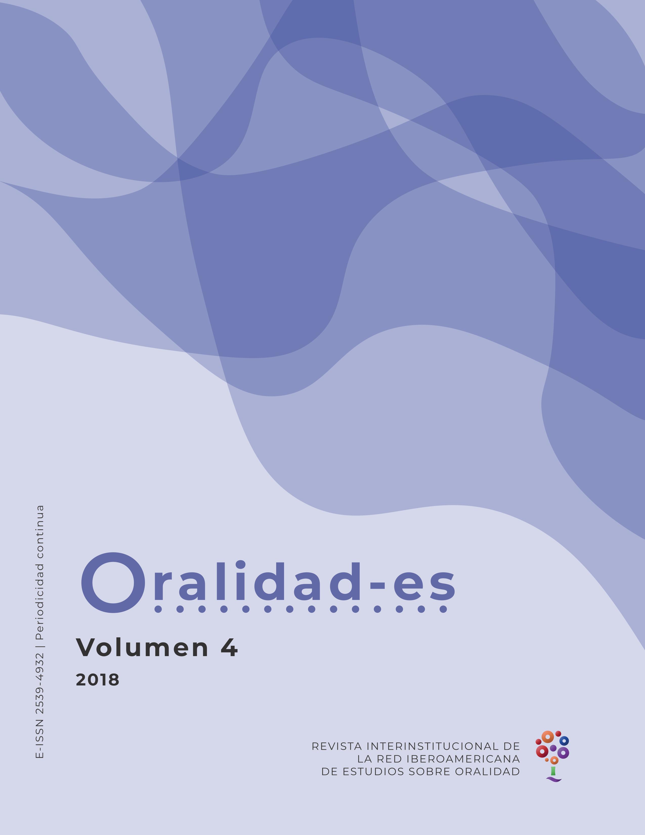 Revista de la Red Iberoamericana de Estudios sobre Oralidad.